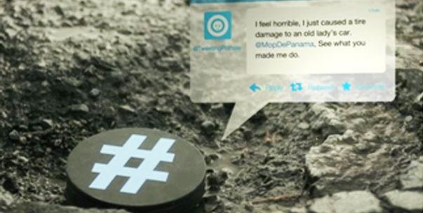 Tweeting pothole tweet
